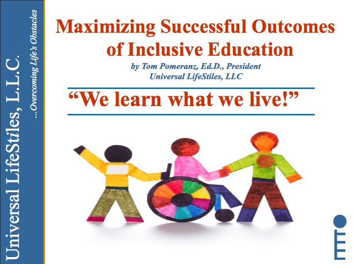 what is inclusive education and how What is an inclusive curriculum we are grateful to the open university for this concise explanation: 'inclusive teaching means recognising, accommodating and meeting the learning needs of all your students.